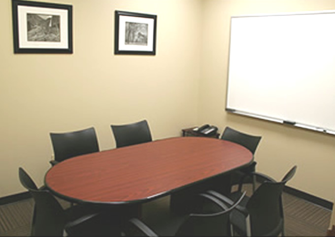 example of day use office and conference room